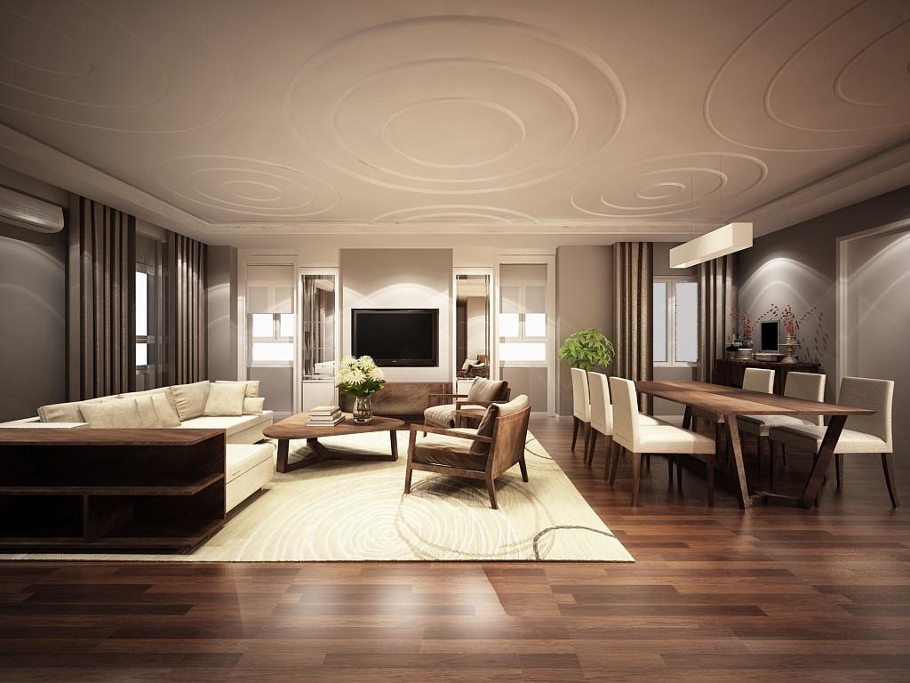phòng khách lotus view