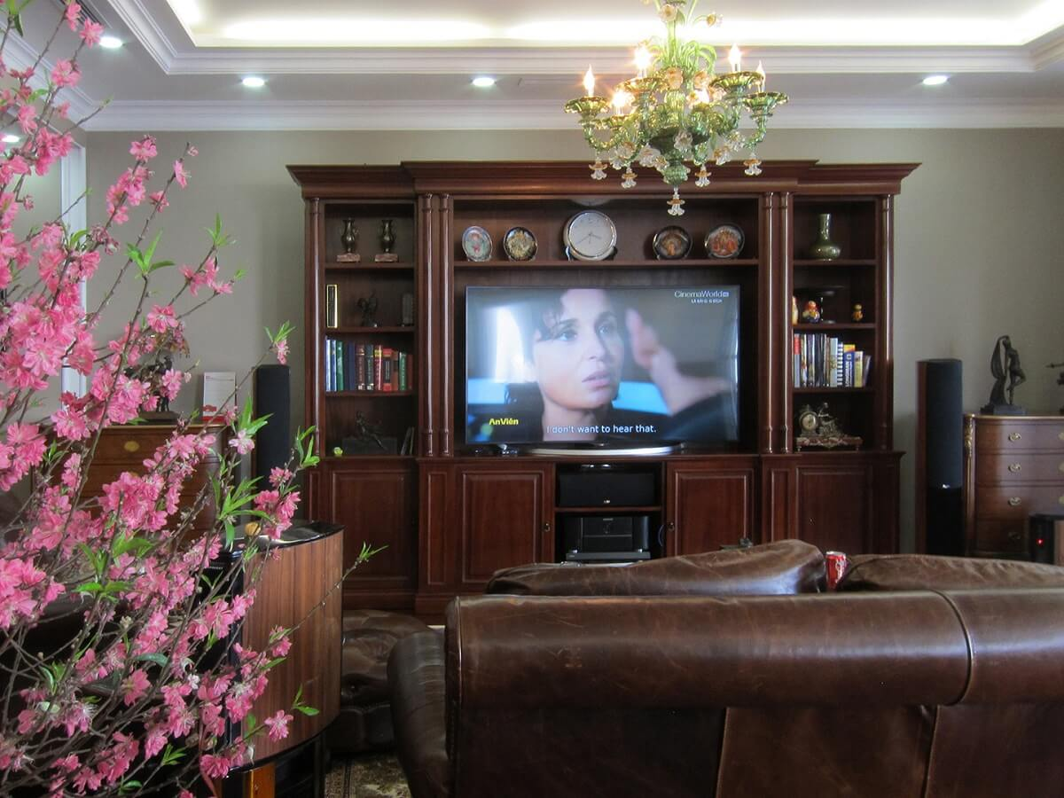 nội thất căn hộ royal City