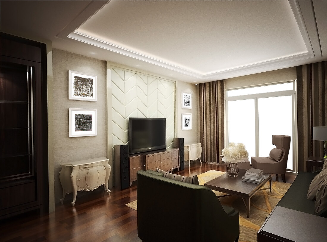 nội thất phòng khách PMH