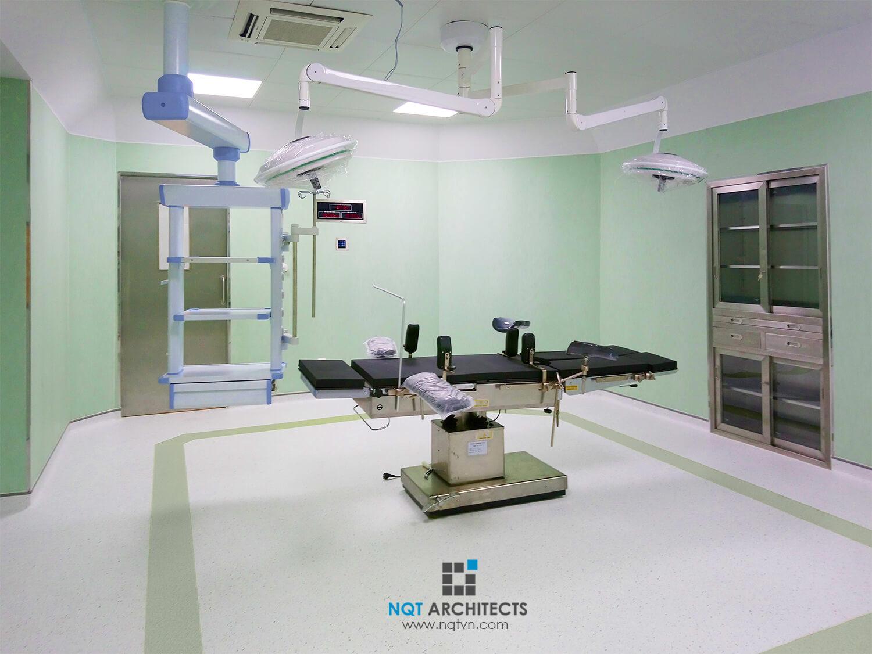 phòng sạch bệnh viện DNA