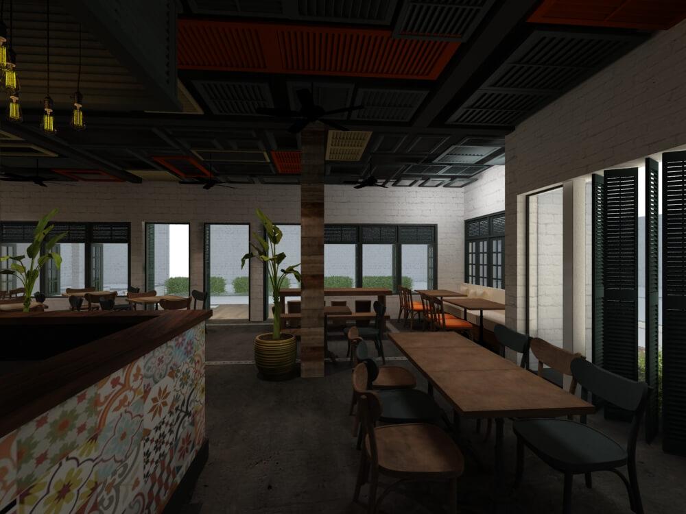 quán cafe đẹp urban space