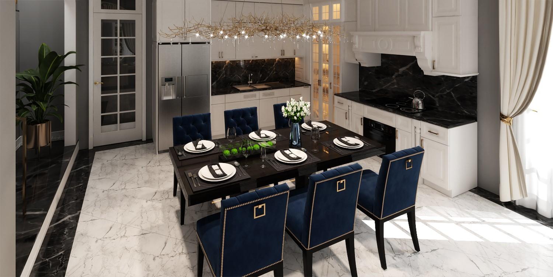 nội thất phòng ăn đẹp 2021