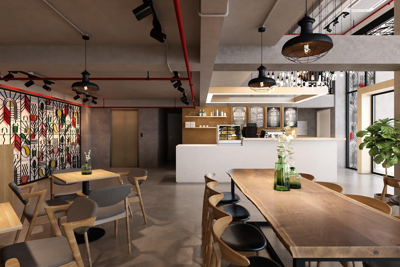 nội thất quán cafe đẹp